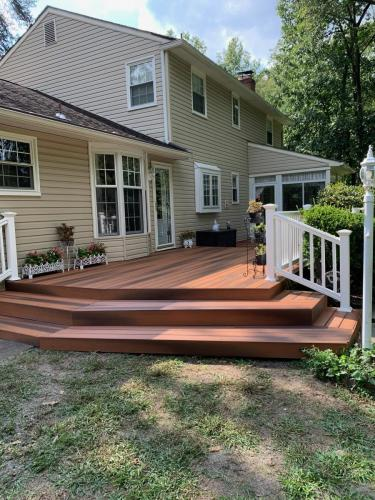 Cherry Hill Contractors Deck Built