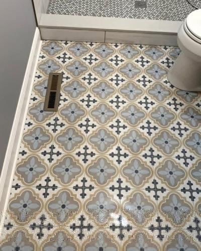 "alt=""Bathroom Tile remodeled by Three Brothers Builders"""