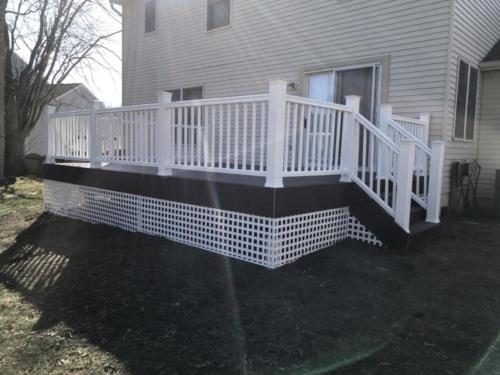 New Deck in Haddonfield