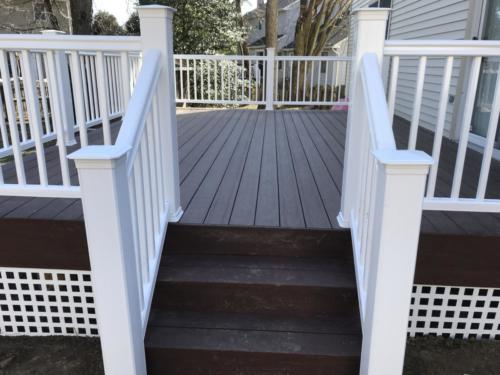 Newly Built Deck in Cherry Hill
