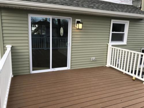 Renovated Deck at Cherry Hill Home