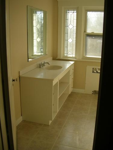 "alt=""Cherry Hill Toilet and bathroom sink newly remodeled"""