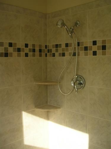 """alt=""""Cherry Hill contractors installed shower and bathroom newly remodeled"""""""