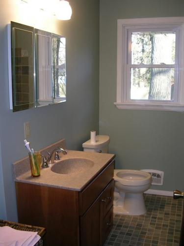 "alt=""New bathroom remodel by Cherry Hill contractors"""