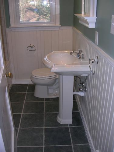 "alt=""Newly installed sink and toilet in South Jersey"""