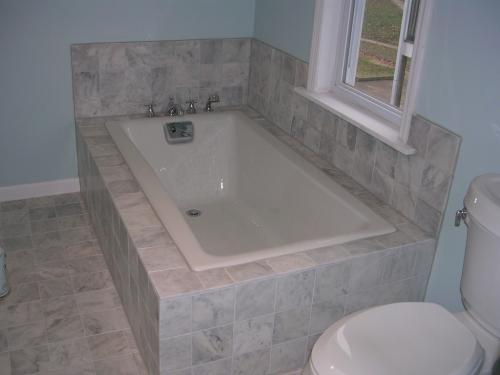 "alt=""Cherry Hill Home Builders New Bathroom"""